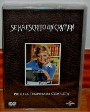 SE HA ESCRITO UN CRIMEN 1ª TEMPORADA COMPLETA 6 DVD NUEVO SERIE (SIN ABRIR) R2