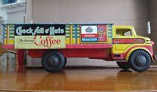 Marx Lumar Choc Full of Nuts Inter City Delivery Pressed Steel Farm Truck Tin