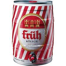 2 große Dosen a 5 Liter Früh Kölsch Bier Frühkölsch Fass Dose Orginal