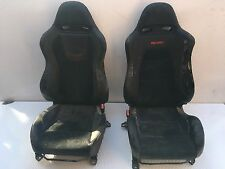 MITSUBISHI LANCER EVO EVOLUTION 7 8 9 FRONT HALF LEATHER l'onorevole SEDILI poveri