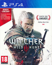 The Witcher 3: Wild Hunt + Map & Soundtrack Bonus Content (PS4, Playstation 4)