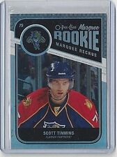 2011-12 SCOTT TIMMINS O-PEE-CHEE RAINBOW PARALLEL ROOKIE CARD #584