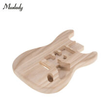 More details for unfinished handcrafted guitar body stratocaster guitar barrel replacement parts