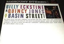 BILLY ECKSTINE & QUINCY JONES at Basin Street East LP ORIGINAL MERCURY STEREO DG