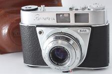 Kodak Retinette 1A 35mm film camera w/ Reomar 45mm F2.8 / case from Japan m031