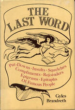 The Last Word: Put-Downs, Insults, Squelches, Comp