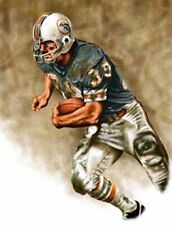 Larry Csonka Miami Dolphins 8 X 10 Giclee by James Byrne Series 1