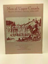 MEN OF UPPER CANADA Militia Nominal Rolls 1828-1829 Softcover