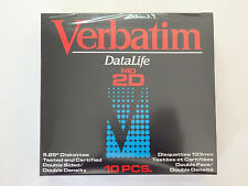 """Verbatim Datalife MD2D Double Sided Double Density Floppy Disks 5 1/4 inch 5.25"""""""