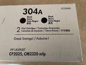 HP CC530AD 304A Toner Cartridge - Black