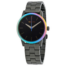 Nixon Kensington Black Dial Ladies Gunmetal Watch A3611698