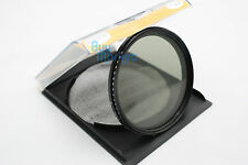 67mm Fader Adjustable Variable ND Filter Neutral Density ND2 ND4 ND8 to ND400