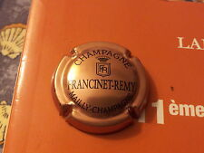 capsule de champagne FRANCINET REMY cuivre et noire #