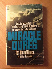 Miracle Cures for the Millions by Victor Levesque (paperback) store#2891