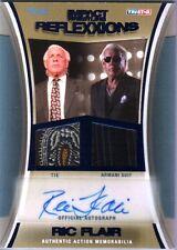 TNA Ric Flair 2012 Reflexxions Autograph Dual BLUE Suit & Tie Relic Card SN 3/25
