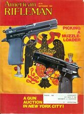 1981 American Rifleman Magazine: Picking A Muzzle-Loader/A Gun Auction New York