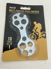 BIKE BICYCLE CYCLE 10 in 1 MULTI PURPOSE STRONG STEEL TOOL WRENCH SPANNER. New!