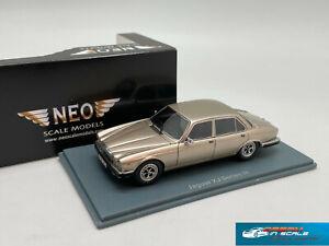 RARE! Jaguar XJ Serie III 1986 gold NEO43151 1:43