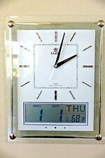 Office Atomic Wall Clock with Melodies & Date Display-0528