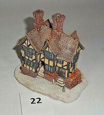 Vintage 1989 Lilliput Lane Mayflower House Cast Structure 22