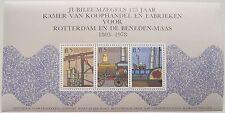 Erinnofilie - Blok Jubileumzegels Kamer van Koophandel Rotterdam postfris