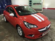 VAUXHALL CORSA LIMITED EDITION SPORT STRIPES BONNET,ROOF,BOOT STICKERS GRAPHICS,