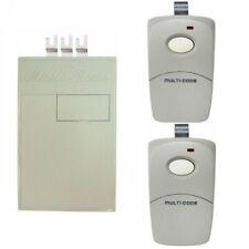 Multi-Code Gate Garage Opener Receiver & Remote Control Set 10DIP 300MHz MCS2022