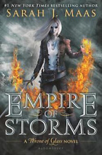 *NEW. Empire of Storms by Sarah J. Maas Throne of Glass (Hardcover)