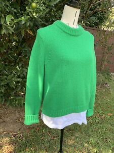 Beautiful Saidy Wool GREEN ACNE STUDIOS Sweater Size Small