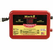 PARKER McCRORY PARMAK MARK 8 ELECTRIC FENCE CHARGER ENERGIZER | Powers 30 miles