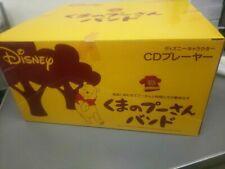 Disney Winnie the Pooh Band CD Player JEN-P07 Limited Rare JAPAN OFFICIAL IMPORT