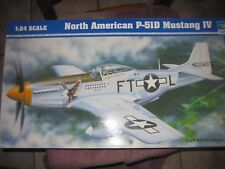 Trumpeter 1/24 scale P-51D Mustang.