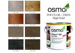 Osmo  Polyx Hardwax Oil Colour Tints- 0.75 ltr Tin- (8 colours)
