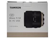 TAMRON Single Focus Lens SP85mm F 1.8 Di VC USD Full Size for Nikon F016N New