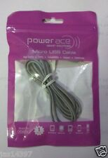 High Quality POWERACE Branded Micro USB Charging & Data Cable for Samsung,LG,HTC
