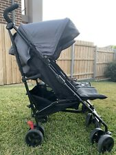 Childcare Twin Nix stroller - Thunder Road (Grey)