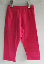 Mini Moppit, Stretchy Pants, Pink, Cotton, Lycra, 2T