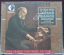 Rare Organ Works of Cesar Franck Jean Guillou Dorian 12 Tracks 2 CD USA 1990