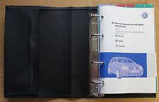 VW GOLF V GT R32 BLUEMOTION HANDBOOK OWNERS MANUAL WALLET 2003-2008 PACK 15578