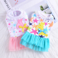 Princess Dog Tutu Dress Small Pet Clothes Cat Puppy Apparel Skirt Chihuahua Girl