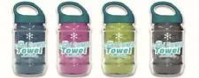 2 x Cool Down Towel Kühltuch grau Sport Freizeit Migräne Fieber Hitze  Schmerz