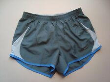NIKE Gray 5K Tempo Women's Running Shorts Style #573728 NEW Size XS