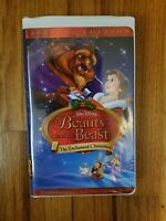Beauty and the Beast Walt Disney Special Edition 1997 VHS Video OOP! RARE