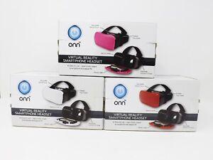 ONN Virtual Reality Smartphone Headset - New