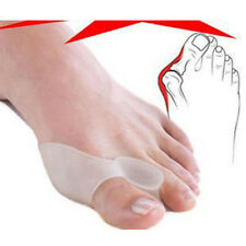 Pair Silicone Gel Bunion Straightener Corrector Protector Splint Big Toe Cushion