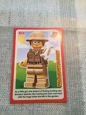 SAINSBURYS LEGO INCREDIBLE INVENTIONS 2018 CARD No. 109 - Palaeontologist