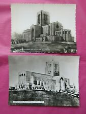 2x Vintage Guildford Cathedral 'As It Will Be' Postcards