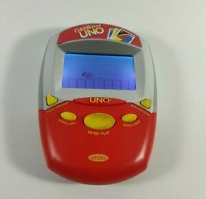 Color Screen Uno Handheld Electronic Game Radica Tested