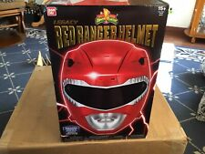 Mighty Morphin Power Rangers Legacy Collection Red Ranger Helmet SEALED New
