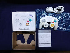 Official Nintendo GameCube White Controller Complete Box + Manual GCN US Seller